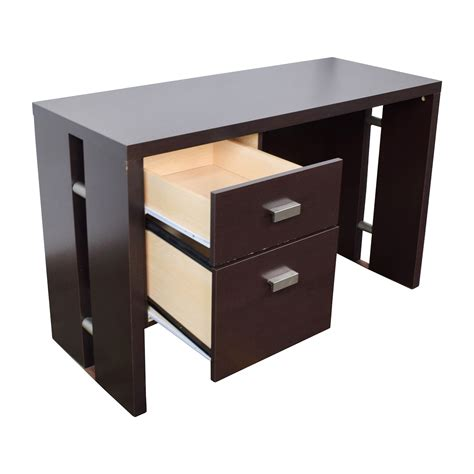 brown desk with drawers 76 off walmart walmart brown desk with two drawers tables