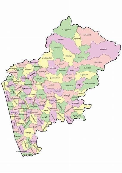 Map Malappuram District Ml Kerala Commons Shanavas