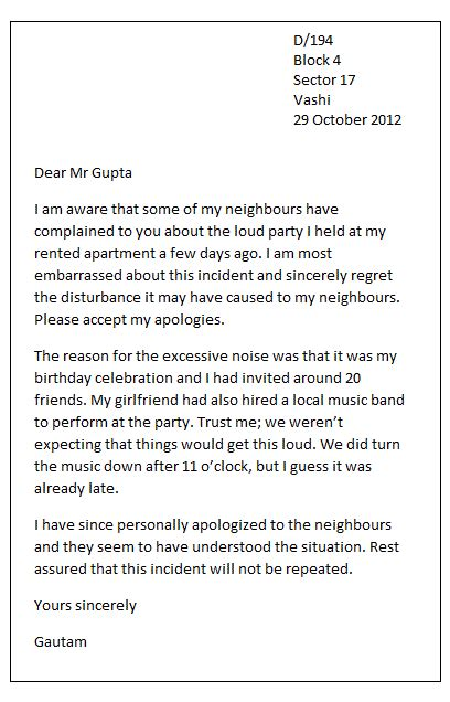 personal apology letter write  personal apology letter