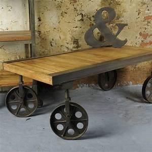 Vintage coffee table with wheels coffee table design ideas for Vintage coffee table with wheels