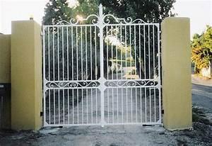 Portail En Fer Lapeyre : portail portillon ~ Premium-room.com Idées de Décoration