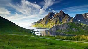 Mountain Norway Wallpaper HD Wallpaper