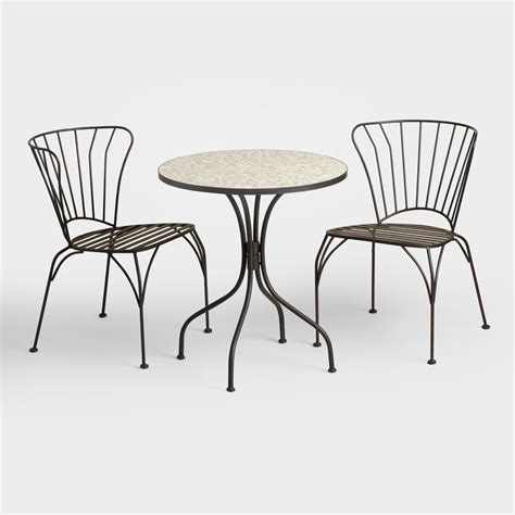 gray cadiz outdoor bistro collection world market