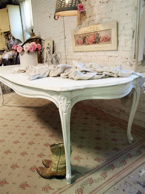 white shabby chic table dining table white shabby chic dining table