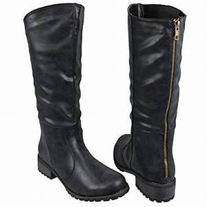 Amazon.com   Womens Knee High Boots Casual Riding Western ...