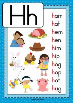 4 letter h words phonics letter of the week h m phonics 20103 | 22b4348be6f32de3138dbed6428ab7fc