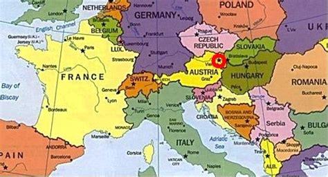 Carte Capitales Europe De L Est by Carte Europe De L Est Capitales 187 Vacances Arts Guides