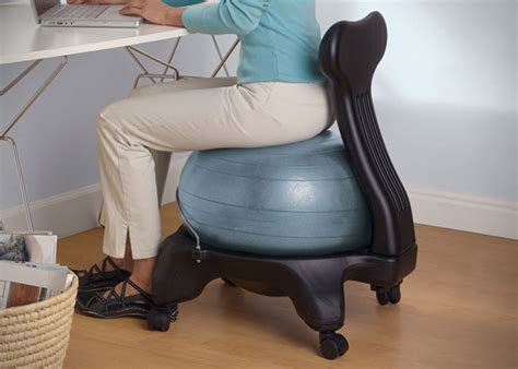 gaiam balance chair gaiam balance chair hiconsumption