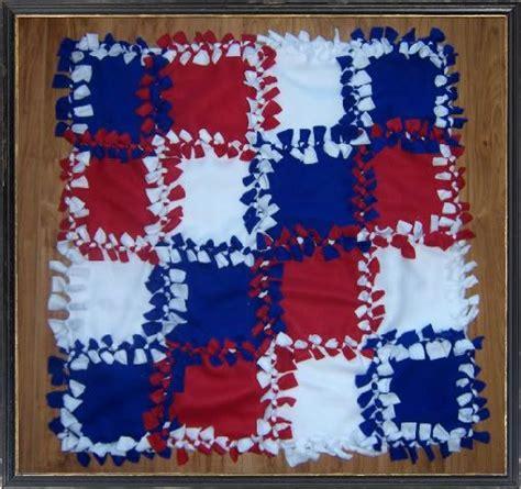 no sew quilt fleece no sew quilt colors new twist on the tie