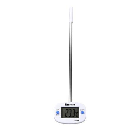 sonde thermometre cuisine inox sonde alimentaire thermomètre cuisine barbecue