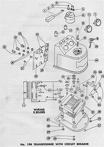 American Flyer Transformer 19b Parts List  U0026 Diagram