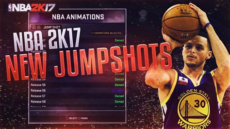 NBA 2K17 NEW CUSTOM JUMPSHOTS ! | BEST 2K17 - YouTube