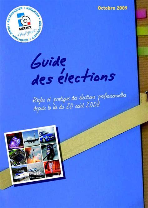 calcul repartition sieges elections professionnelles calaméo guide des élections