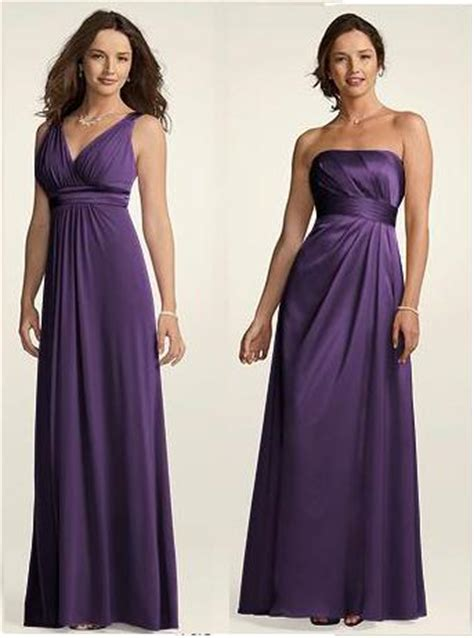 davids bridal bridesmaid dress colors jj s taffeta strapless rouched bodice with a line