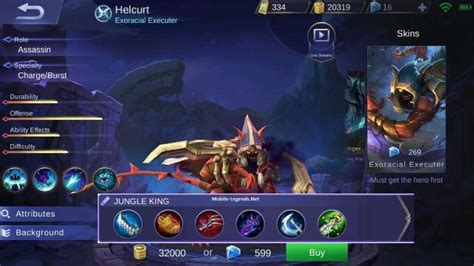Helcurt Jungle King Damage Build 2018