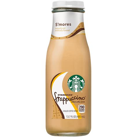 To inspire and nurture the human spirit — one person, one cup and one neighborhood at a time. Starbucks Frappuccino S'mores Chilled Coffee Drink, 13.7 fl oz - Walmart.com - Walmart.com