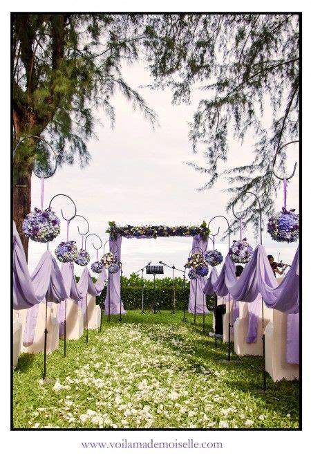 Purple Garden Beach Wedding Lone Pine Penang Garden