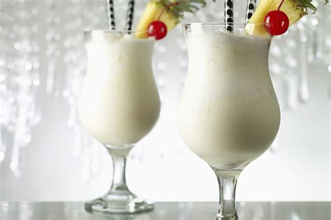 Part of the charm of piña coladas is how easy they are to make: Frozen Pina Colada Cocktail Recipe