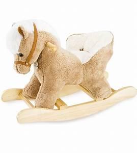 Siege A Bascule : cheval bascule avec si ge chez doudou ~ Teatrodelosmanantiales.com Idées de Décoration