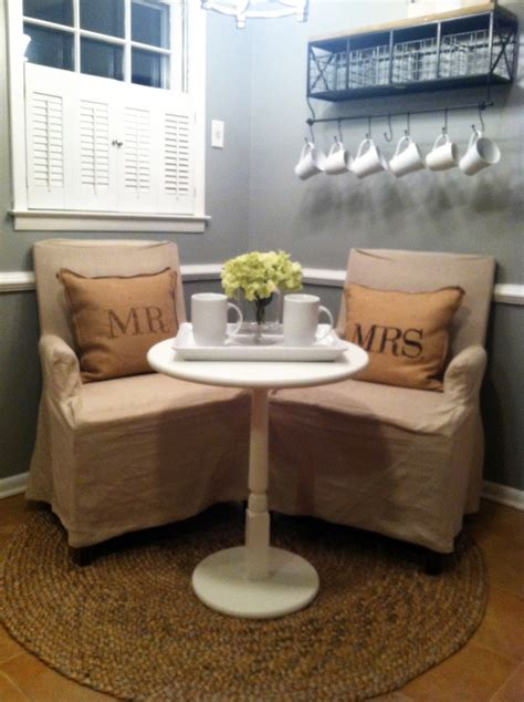 hopes dreams newlyweds breakfast nook
