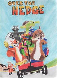 Over The Hedge drawing by antonio248 on DeviantArt