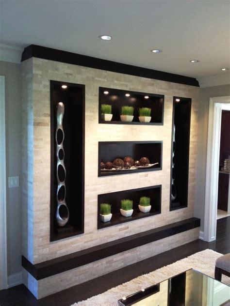 contemporary wall unit contemporary living room