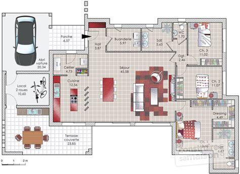 jonction plan de travail cuisine une maison d 39 architecte aux lignes contemporaines dé