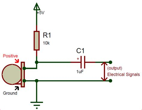 Electret Condenser Microphone Pinout Features Datasheet