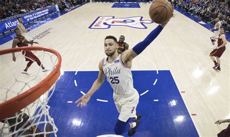 sixers ben simmons      cutting