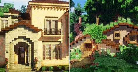 brilliant minecraft house ideas game rant