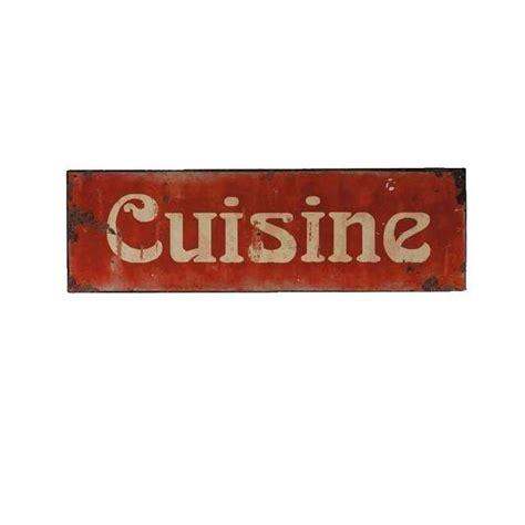 plaque décoration cuisine rétro esprit vintage