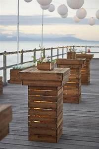 Bar Aus Holzpaletten : 50 fab rustic wood pallet wedding ideas palettenhochzeit ~ A.2002-acura-tl-radio.info Haus und Dekorationen