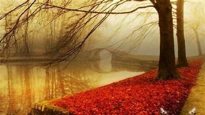 Autumn Fall Wallpapers Desktop 1080p Backgrounds Lake