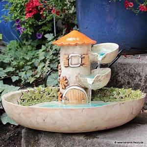 Töpfern Ideen Für Haus Und Garten : brunnen fleury kreative keramik f r haus und garten keramik fleury n tzliche keramik ~ Frokenaadalensverden.com Haus und Dekorationen