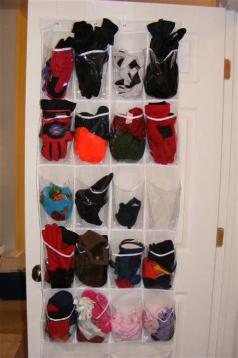 mittens gloves and hat storage winter gear