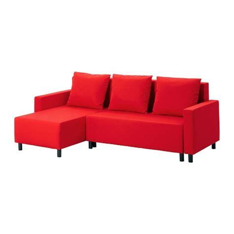 lugnvik sofa cama  chaiselongue granan rojo ikea