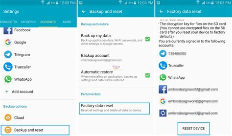 reset phone to factory settings 9 ways to fix sim card not detected error on any android phone