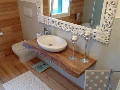 mensola legno per lavabo da appoggio piani lavabo in legno magicolegno produzione e vendita