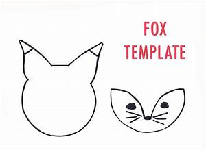 nest fox template With template of a fox