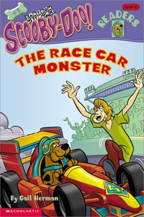 race car monster scooby doo readers  level
