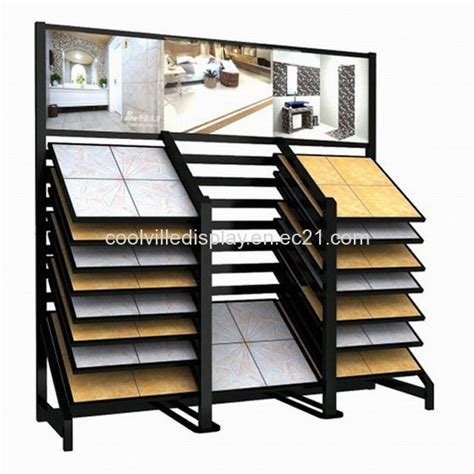 drawer style ceramic tile display stand id 7918867
