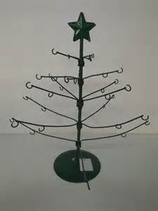 metal christmas tree ornament holders new adjustable metal tree ornament display stand green ebay