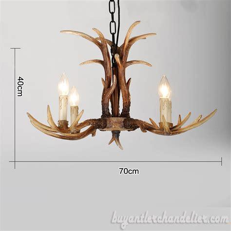 antler chandelier cheap cheap 4 cast deer antler chandelier rustic lighting