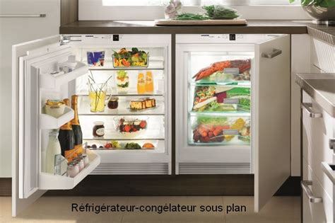 frigo sous plan encastrable quelques liens utiles