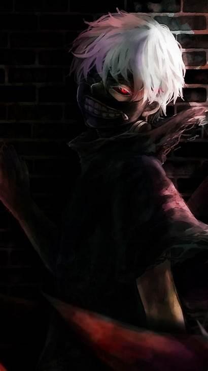 Kaneki Ghoul Tokyo Ken Iphone Wallpapers Mask