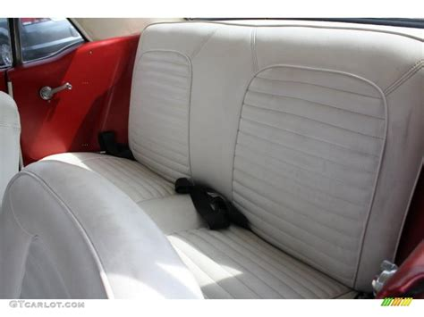 Parchment Interior 1966 Ford Mustang Coupe Photo #46893023
