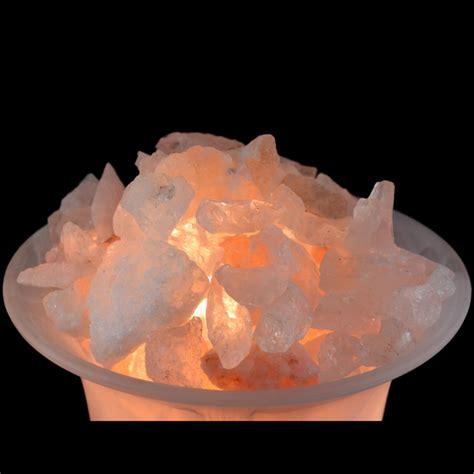 le verre sel de l himalaya et cristal de roche