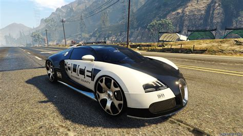 I went 416kph with the non bought bugatti, if you wanna go faster than that theres a hot pursuit race in the desert with a long straight road, once you hit that use your boost to the max and. Bugatti Veyron / Need for Speed - Hot Pursuit Police для GTA 5