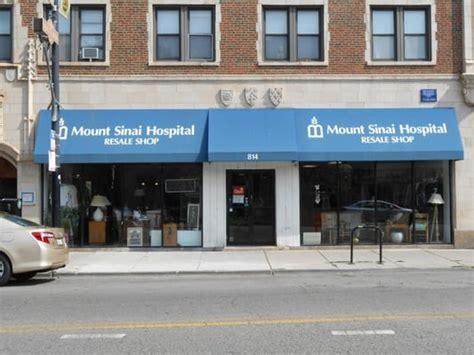 mount sinai hospital resale shop thrift stores chicago