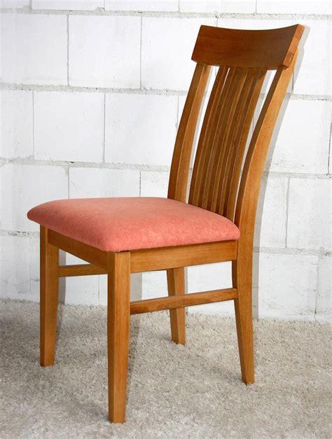 stuhl eiche massiv stuhl mit polster k 252 chenst 252 hle esszimmer st 252 hle holz eiche massiv ge 246 lt landhaus ebay